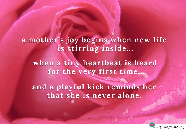 a mother 39 s joy begins when new life inspirational quote