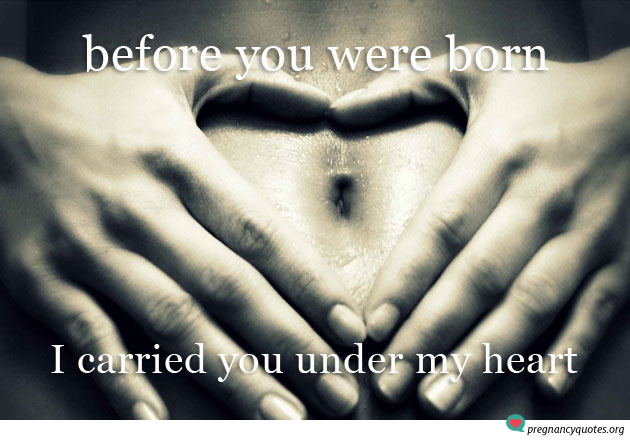 Before You Were Born  Powerful Inspirational Pregnancy Quote Pregnancy Quotes