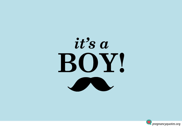 its-a-boy-1 - Pregnancy Quotes Pregnancy Quotes