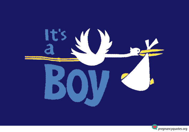 its-a-boy-11 - Pregnancy Quotes Pregnancy Quotes