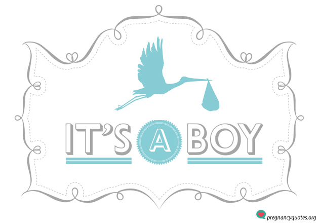 its-a-boy-9 - Pregnancy Quotes Pregnancy Quotes