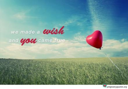 We Made a Wish