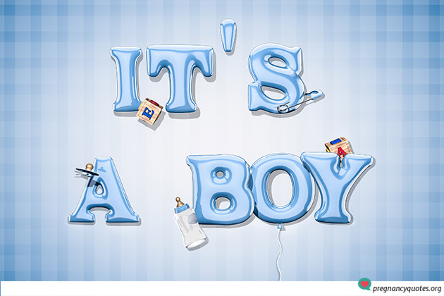 creative ways of using its a boy pics to announce your new