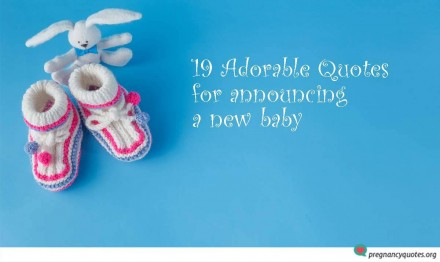 Adorable Quotes for Announcing a New Baby