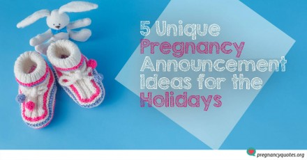 5 Unique Pregnancy Announcement Ideas During The Holidays
